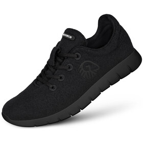 Giesswein Merino Wool Runners Dames, black